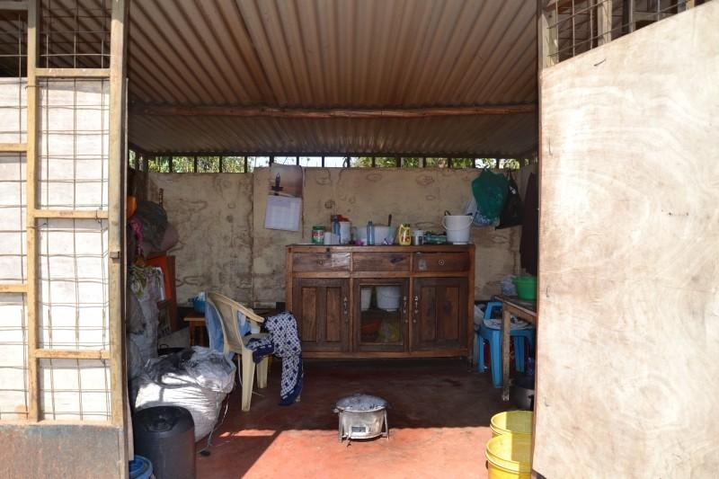 kuchyňka na klinice v Kambi Mawe