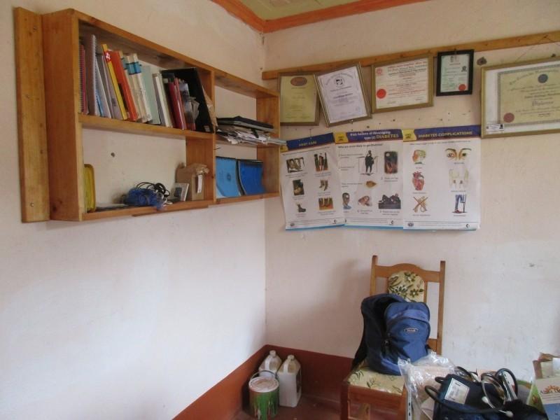 jedna z konzultačních místností na klinice