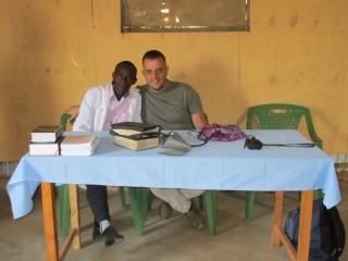 na jedné z mobilních klinik
